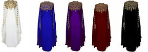 SALE MOROCCAN DUBAI KAFTANS CAFTAN MAXI ABAYA DRESS VERY FANCY LONG GOWN MC 5123