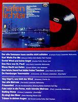 LP Hafenlichter - Abends am Hafen singen... (Karussell 635 041) D