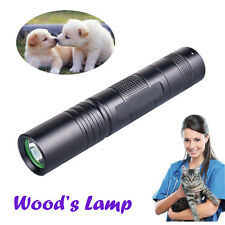 Handheld Pet Dog Cat Ringworm Eczema Wood Lamp UV Light Detector Wood's Lamp