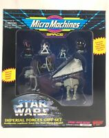 STAR WARS MICRO MACHINES SPACE IMPERIAL FORCES GIFT SET 1994 Galoob 65837 NISB