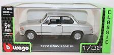 Modellini statici di auto, furgoni e camion Burago per BMW scala 1:8