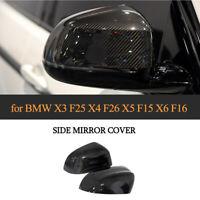 CARBON Spiegelkappen Replacement Passenfür BMW X3 F25 X4 F26 X5 F15 X6 F16 14-18