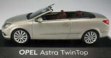 MINICHAMPS - OPEL Astra TWINTOP - silber metallic - 1:43 - NEU in OVP