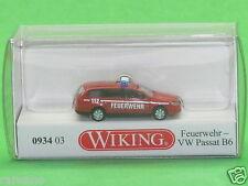 1:160 Wiking 093403 Feuerwehr - VW Passat B6 Variant Blitzversand per DHL-Paket