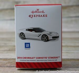 2014 Chevrolet Corvette StingRay Hallmark Keepsake Ornament