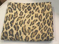 Ralph Lauren Aragon Leopard Pillowcase Standard Blue Irregular Label USA (1) EUC