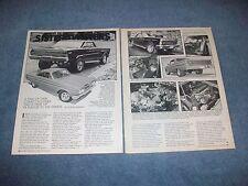 "1964 Mercury Cyclone Vintage Street Machine Article ""Sister Twisters"""