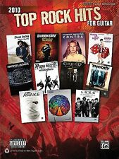 Top Rock Hits 2010 For Guitar TAB Book *NEW* Sheet Music, 20 Songs, Katy Perry
