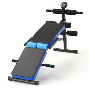 Multi Workout Weight Bench, Foldable, Adjustable with LCD
