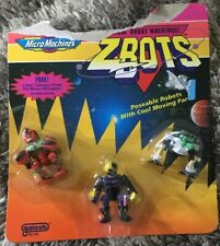 Zbots Bitebots Lot Micro machines Galoob MOC NIP Vintage Toys