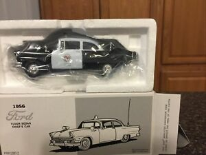 1956 Ford Los Angeles Police Dept. Car Die Cast