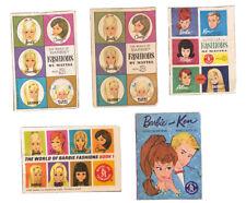 Vintage Barbie Fashion Catalogs