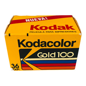 Kodacolor Gold 100 35mm Color Film - Expired APR 1992 - 36 Exposures
