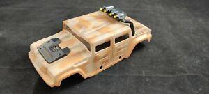 kleine Hummer Karosserie Lexan, lackiert ca. 198mm RC Car Humvee