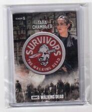 2018 The Walking Dead Tara Chambler Commemorative Patch Card Season 8