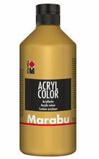 Marabu Acrylfarbe Acryl Color 500 ml gold 084 hochwertige Künstler Malfarbe