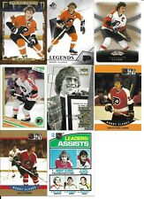 Lot of 8 Different Bobby Clarke Cards Flyers