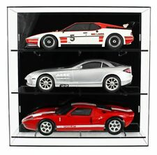 Acrylic Wall Display Case for Three 1:12 Scale Model Cars