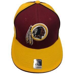 Washington Redskins NFL Reebok Gridiron Classic 7 1/8 Fitted Cap Hat $25
