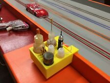 Tack-Side Slot Car Pit Box **Custom Name** **New Colors** V2 1/24 1/32 1/64 H.O.