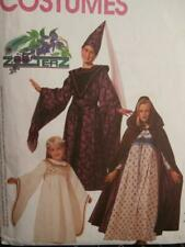 McCall's Sewing Pattern 8937 Woman's Medieval Costumes XS