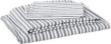 Nautica | Percale Collection | Bed Sheet Set - 100% Cotton, Crisp & Cool, Lightw