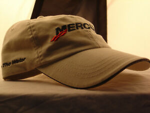 1 NEW MERCURY TAN CAP