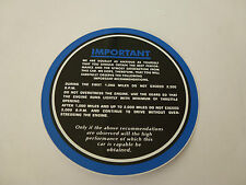 JAGUAR Parabrezza Blu in esecuzione in adesivo