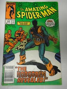 Marvel AMAZING SPIDER-MAN #289 (1987) Kingpin, Jack O'Lantern, Black Cat, Rose