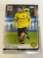 2019-2020 Topps Chrome Bundesliga #37 Giovanni Reyna Rookie RC Soccer Card