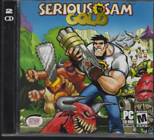 Serious Sam: Gold (PC CD-ROM 2 Disc 2003) First Person Shooter