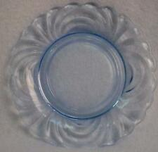 CAMBRIDGE crystal CAPRICE moonlight blue UNDERPLATE for FINGER BOWL pressed