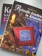 2 Bücher Reizvolle Geschenke in Kreuzstich + .. Schleifen über Schleifen
