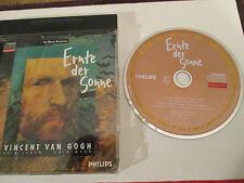 Ernte der Sonne Vincent van Gogh sein Leben - sein Werk  CDi Philips Neuwertig