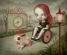 Mark Ryden Limited Edition Lithograph Print with Embossed Border