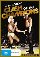 WWE - WCW - Clash Of The Champions (DVD, 2012, 3-Disc Set) New Region 4
