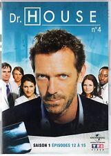 Dr HOUSE - Intégrale kiosque TF1 Video - Saison 1 - dvd 4 - Episodes 12 à 15