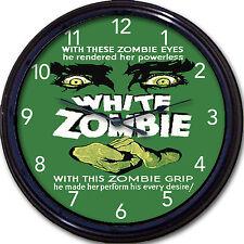 "White Zombie Bela Lugosi Movie Poster Wall Clock Walking Dead Zombies New 10"""