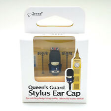 Blue Queen's Guard Stylus Cellphone Earphone Jack Plug