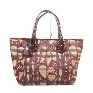 Burberrys Tote Bag  Bordeaux PVC 1727968