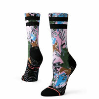 STANCE Feel 360 Ivy League Crew Run Socks Womens Medium (Shoe size 8-10.5) NWT