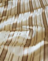 Striped Taffeta Brocade Upholstery Drapery Fabric (54 in.) Sold BTY