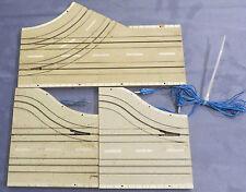 Faller AMS Schienen 4712 + 4710  -- Abzweigung 2-spurig und 1-spurig