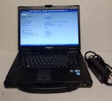 Panasonic Toughbook CF-52 Intel/ i5 4GB MM 120 GB SSD/ Win 10 64bit MSO 2010