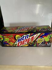 RARE!!!! HARD TO FIND!! Mountain Dew Voo Dew Limited Edition Soda 12 pack Pepsi