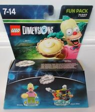 LEGO Dimensions Fun Pack The Simpsons Krusty The Clown 71227