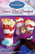 DISNEY FROZEN ANNA'S BEST BREAKFAST COOKBOOK PAPERBACK 24 PAGES FREE USA SHIP