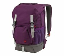 "Wenger Jetty Backpack 15.6"" Laptop Case With Tablet Pocket 25L Large-Purple"