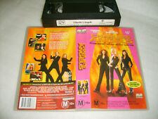 *CHARLIE'S ANGELS* Australian Columbia Pictures VHS as new  ***CLEARANCE SALE***