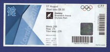 Orig.Ticket  Olympic Games LONDON 2012 - HOCKEY  South Korea - Netherlands  !!